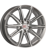 1000 Miglia MM1007 Silver Gloss Polished